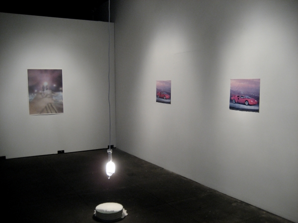 posters, installation view, 2009.