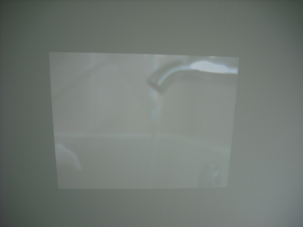 projector. Dimensions Variable.
